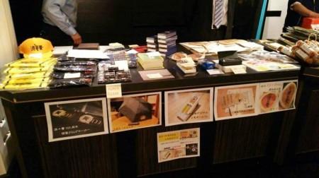 熊本からのグッズもあり、グッズ売り場は大盛況でした