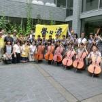 滋賀県守山市で開催されました。左端:栗山雅敏関西地区同窓会会長(S40)